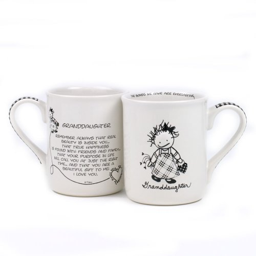Granddaughter Collectible (Department 56 4031080 Granddaughter Mug, 4.25