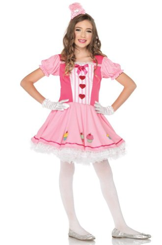 Lil Miss Cupcake Costumes (Lil' Miss Cupcake Child Costume - Large)