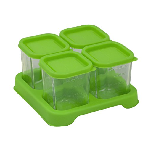 glass baby food containers 4 oz - 5