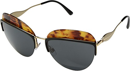 Giorgio Armani  Men's 0AR6061 Top Black/Yellow Havana/Grey - Top Giorgio Armani