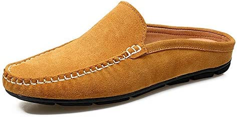 ドライビングローファー男性の靴夏のファッション豆カジュアルシューズ男性パステルキャンバスソフト快適なマン履物フラット男性の靴ステッチ軽量滑り止めモカシン