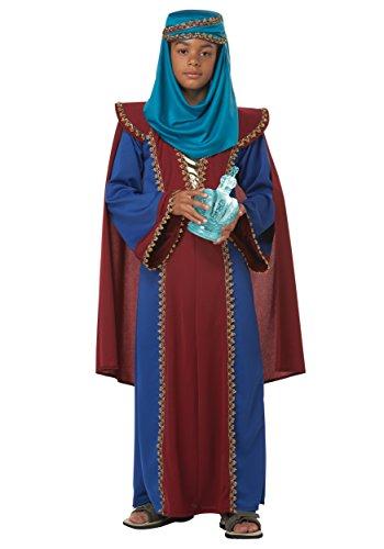 California Costumes Balthasar of Arabia Child Costume, (Childrens King Costume Nativity)