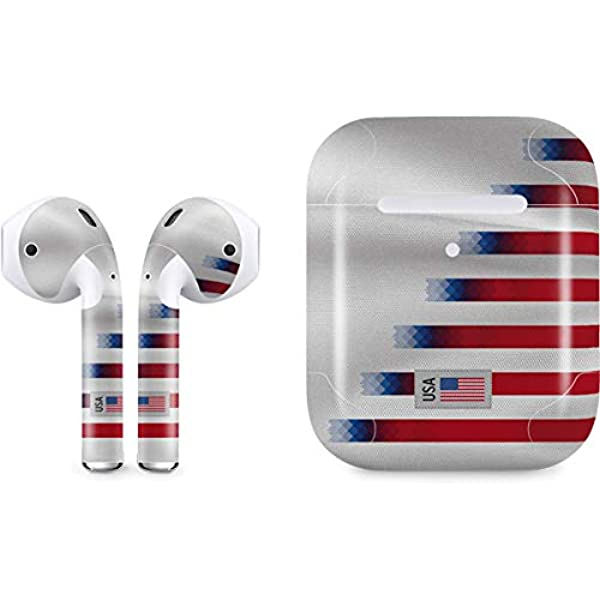 Amazon Com Skinit Decal Audio Skin For Apple Airpods With Wireless Charging Case Officially Licensed Skinit Originally Designed Usa Soccer Flag Design