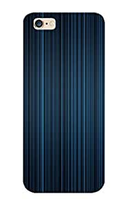 Awesome 54fd8e21967 Walkintherain Defender PC Hard Case Cover For Iphone 6 Plus- Blue And Grey Lines