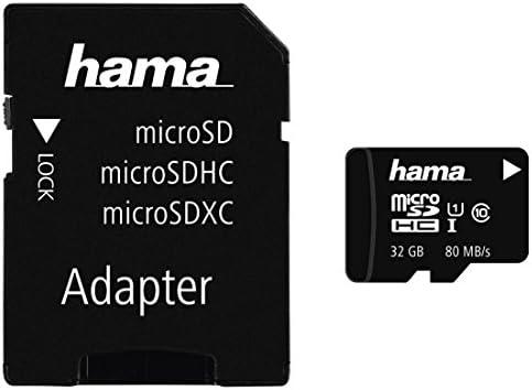 Hama Microsdhc 32gb Class 10 Uhs I 80mb S Karte Inkl Sd Adapter