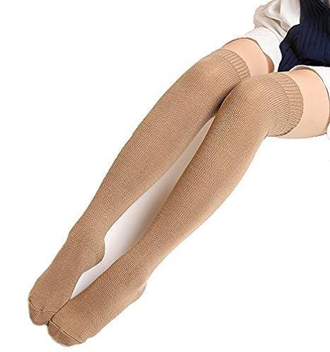 affa42927 Womens Spring Over Knee Leg Warmer Crochet Thigh High Boot Socks Girls  Leggings