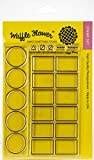 Waffle Flower Crafts Clear Stamps 4'x6'-color Swatches For Watercolors