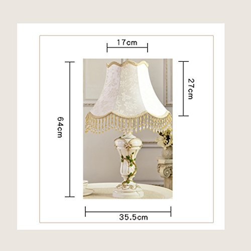 (WCUI Desk Lamp French Continental Simple Study Bed Bedroom Bedside Lamp Select ( Color : B ))