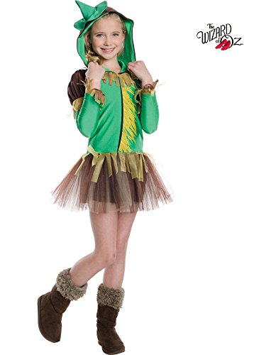 Wizard of Oz Scarecrow Hooded Tutu Costume for Kids]()
