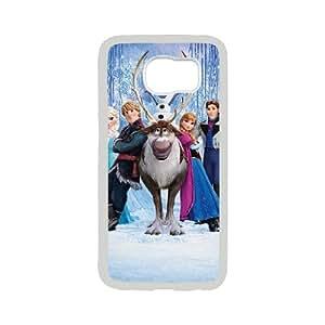 [QiongMai Phone Case] For Samsung Galaxy S6 -Frozen - Olaf - Let it go-Case 14