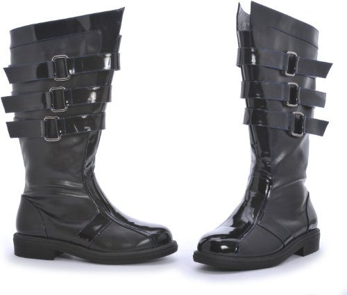 Ellie Shoes - Dark Lord Adult Boots - Small (8/9) - Black]()