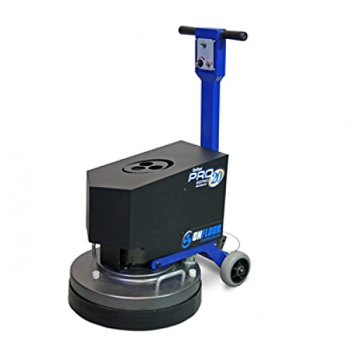 Onfloor 20 Inch Vari-Speed Floor Resurfacing System. Excellent for Grinding, Honing, Maintaining, Polishing, Mastic and Coating Removal, Restoring, and Sanding. 5 HP, 208-240V Motor. Made In the USA