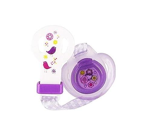 dBb Remond Paquete Chupete de silicona segundo Violeta Edad ...