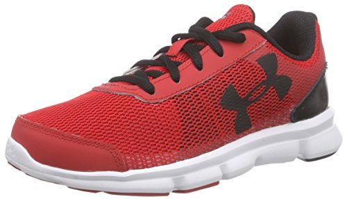Under Armour Ua Bps Speed Swift - Zapatillas de running Niños Rojo - Rot (RED/WHT/BLK 600)