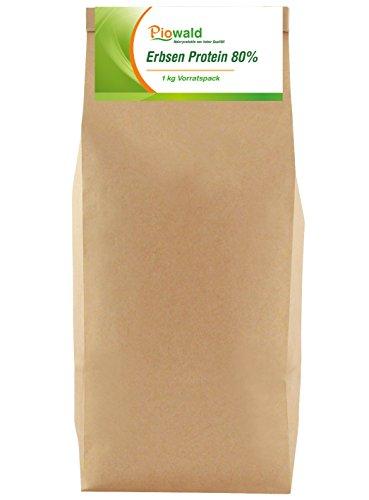 Erbsenprotein - Isolat - 1 kg Vorratspackung