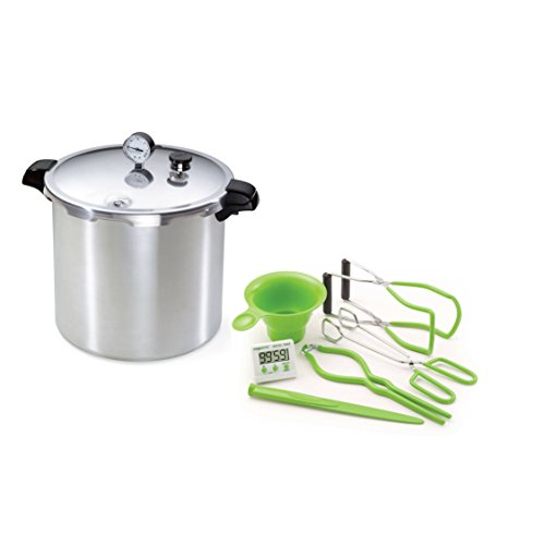 Presto 23-Quart Pressure Canner and Cooker with 7-Function Canning Kit