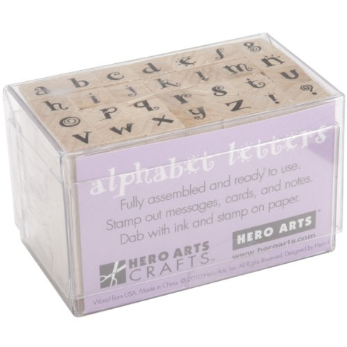 Hero Arts Stamps Tiny Carnival Letters
