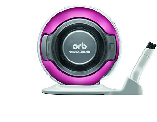 BLACK DECKER orb [fit in the spaces about 1 CD] rechargeable handy cleaner pearl magenta ORB48PM