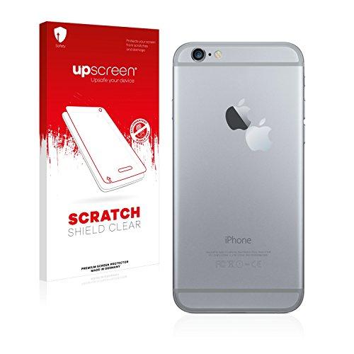 upscreen Scratch Shield Pellicola Protettiva Apple iPhone 6 Plus (Logo sulla parte posteriore) Protezione Schermo – Trasparente, Anti-Impronte