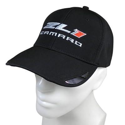 Chevrolet Carbon Fiber Look Accent Baseball Hat for Camaro ZL1: Automotive