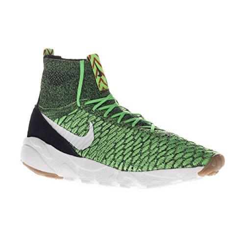 blk Scarpe white Sportive Air Flyknit Verde Uomo Nike Magista unvrsty Footscape psn verde Rd Green w6qBIF