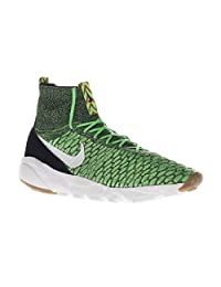 Nike Air Footscape Magista Flyknit 816560-300 Poison Green/White Men's Shoes