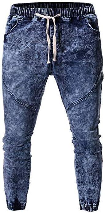 Pantalones Vaqueros Hombre 2019 Lanskirt Jeans Cosidos Tenido De Moda Pantalon De Trabajo Hombres Tallas Grandes Pantalones Deportivos Jogger Overol Ropa De Trabajo Amazon Es Ropa Y Accesorios