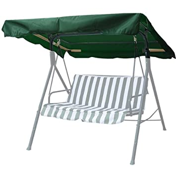 MTN Gearsmith Replacement Swing Set Canopy Cover Top 75 X52 – Green