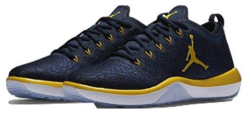Nike Jordan Trainer 1 Basso Blu Navy Giallo 845403 415 Taglia 8.5