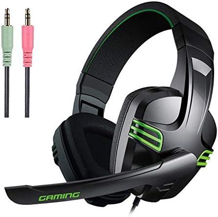 マイク付きゲーミングヘッドセット、ゲーミングヘルメット、PS4 / PC/Xbox One/スイッチ/タブレット/携帯電話用ゲーミングヘッドセット、ノイズキャンセリングマイク付きステレオヘッドセ