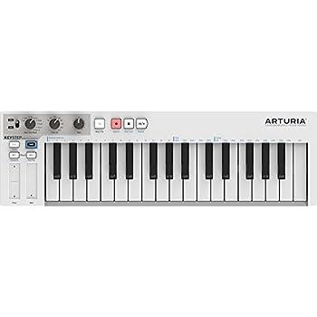 Amazon com: Arturia KEYSTEP Portable Keyboard Sequencer with
