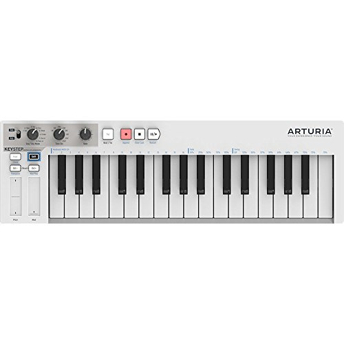 - KeyStep Portable Keyboard and Step Sequencer