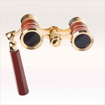 Iolanta Opera Glasses Finish: Black/Golden by LaScala Optics