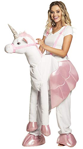 Boland 88092 Costume on a Unicorn White/Pink, One Size -