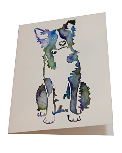 Border Collie Note (Pamela Gillette Dog Note Cards (Speedy the Border Collie), Pack of 5)