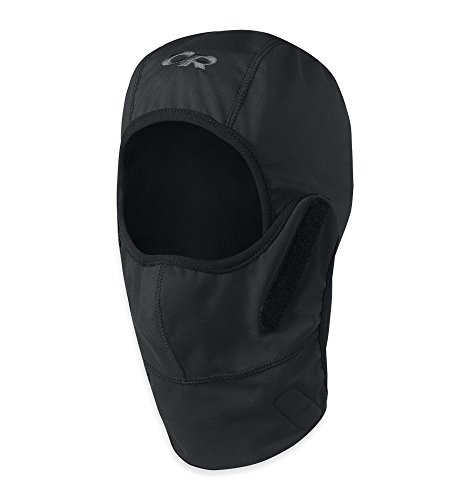 Outdoor Research Wind Stopper Gorilla Balaclava, Black, Large