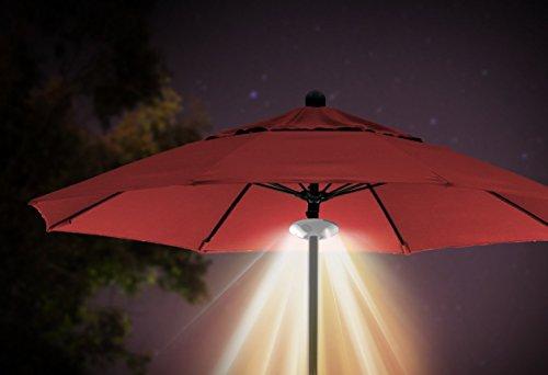 Ion audio patio mate lampada per ombrellone con altoparlanti