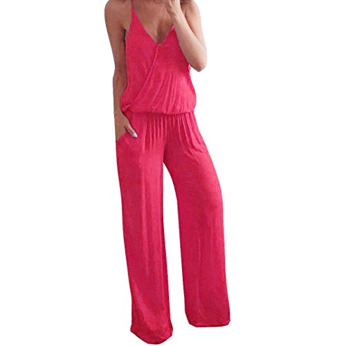 - TOPUNDER Sexy Harem Jumpsuits Floral Cute Romper Dress for Women Bodycon Maxi Rompers