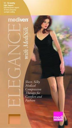 - Mediven 04101 Elegance 12-16mmHg Pantyhose Color: Beige, Size: A