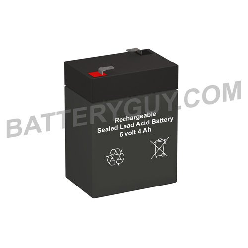 6v 4ah sealed lead acid battery - 6