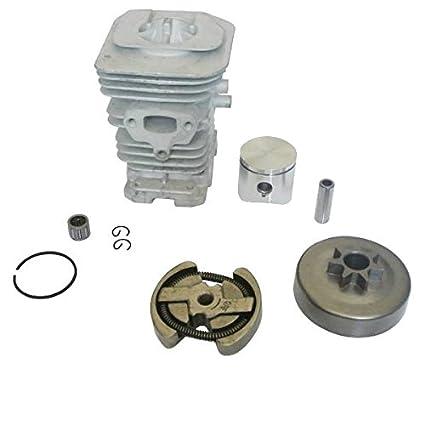 jrl 38 mm cilindro pistón embrague rodamientos MOTOR KIT para Husqvarna 136 137 141 142