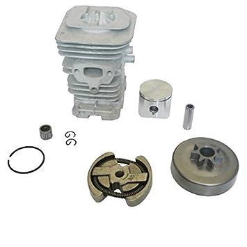 jrl 38 mm cilindro pistón embrague rodamientos MOTOR KIT para Husqvarna 136 137 141 142: Amazon.es: Coche y moto