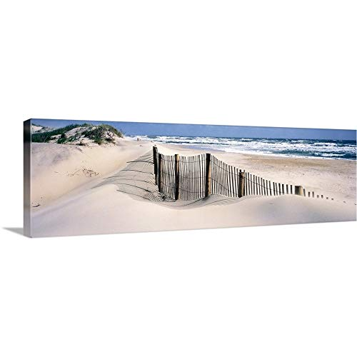 48 Bank - GREATBIGCANVAS Gallery-Wrapped Canvas Entitled North Carolina, Outer Banks by 48