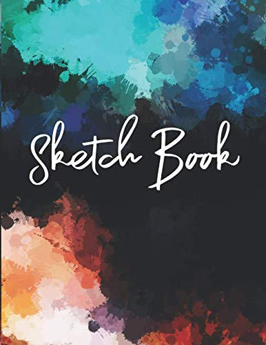 - Sketch Book: A Large Journal With Blank Paper For Drawing And Sketching, Doodling, Sketching, Creative Scribbling: Artist Edition, 8.5'' x 11'' , 106 pages