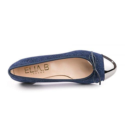 Elia D'oro B Pompe Womens Bleu Occhio O46SxrnOqz
