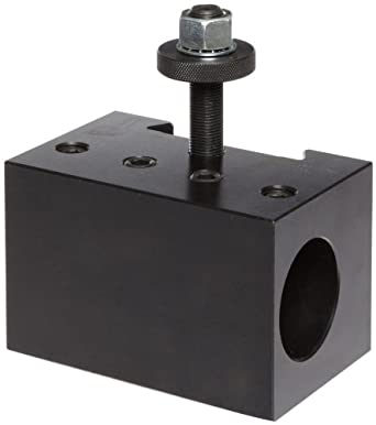 """Dorian Tool D41-CNC Extra Heavy Duty Chromium Molybdenum Alloy Steel Quick Change Boring Bar Toolholder with CNC Locking System for SDN50DA Super Quick Change Tool Post, 2"""" Tool Capacity, 5-1/2"""" Width, 3-31/64"""" Height"""