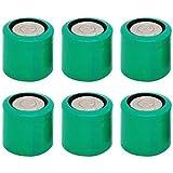 6 pcs CR13N Bulk 3V Lithium Battery Compatible with CR1/3N DL1/3N 1/3N K58L 2LR76 CR11108 72L76 KL1/3