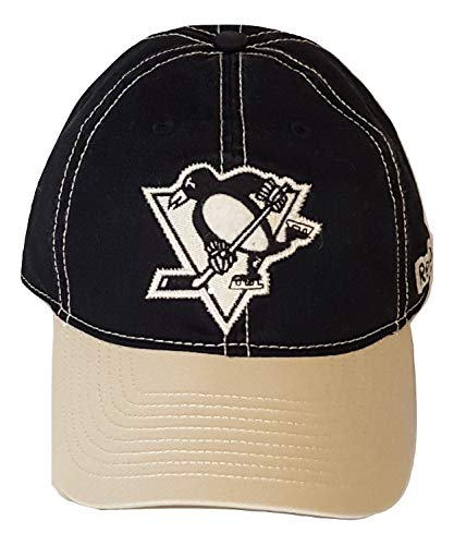 - Reebok Pittsburgh Penguins Cap Slouch Fitted Hat (S/M)