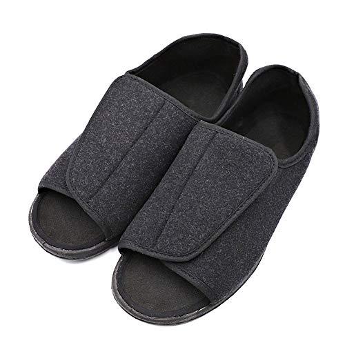 99b8908a3 MEJORMEN Men s Diabetic Footwear Swollen Feet Slippers Adjustable Orthopedic  Wide Shoes Open Toe for Diabetic