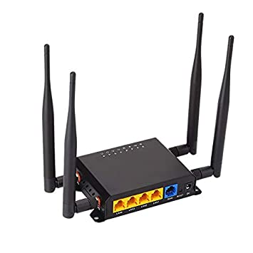 CUHAWUDBA Enrutador WiFi MóDem 4G LTE con Punto de Acceso de ...